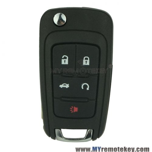 Remote Key For Buick Lacrosse 4 Button With Panic 315mhz Gm Id46 Chip Key Chevrolet Camaro Chevrolet