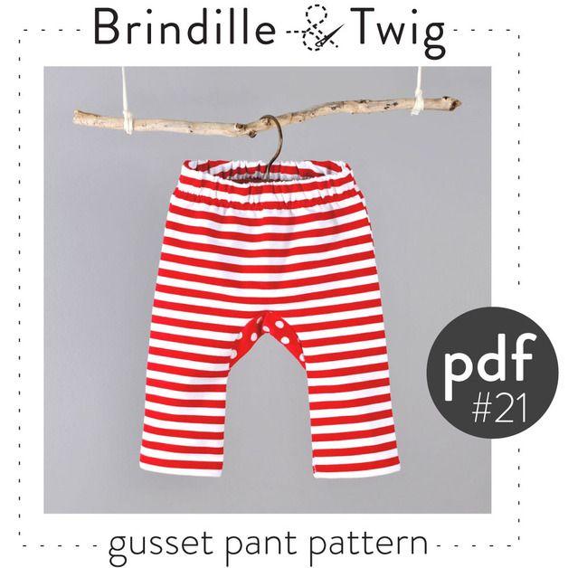 Baby-Hose Zwickel Muster DIGITAL FILE | Nähen: Baby | Pinterest ...