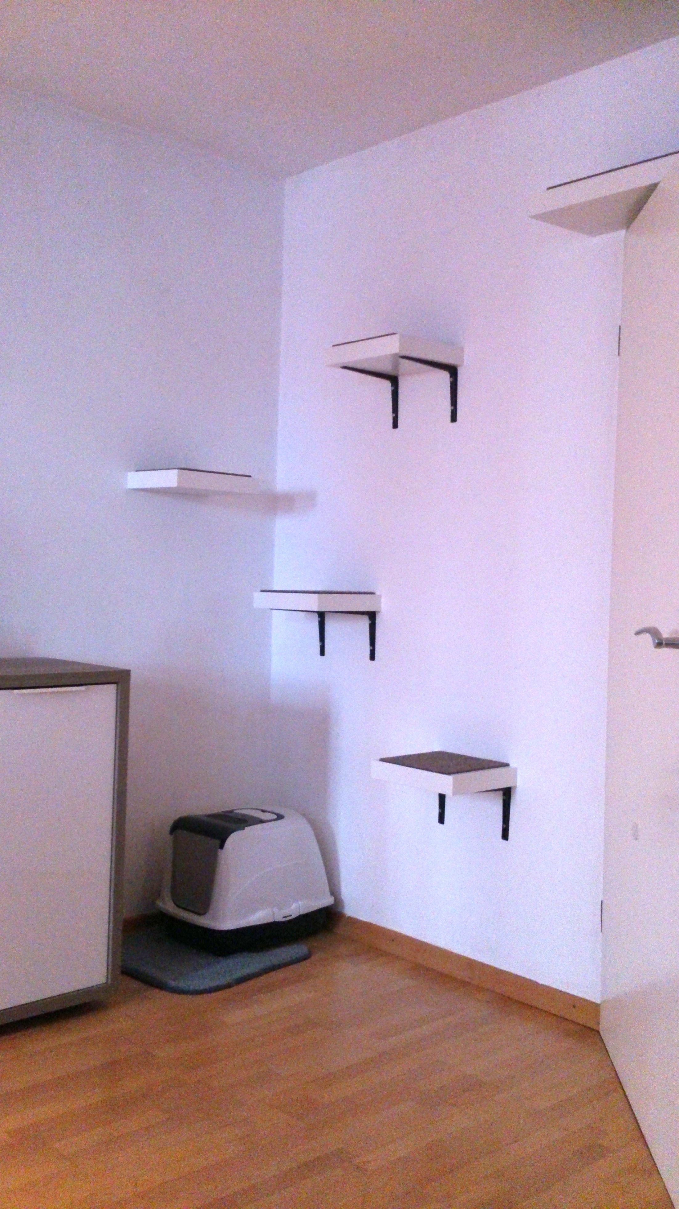 bildergebnis f r wandkratzbaum selber bauen katzen. Black Bedroom Furniture Sets. Home Design Ideas