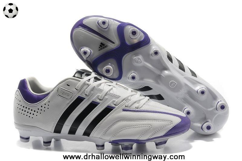 White-Night Sky-Ultra Purple Adidas Adipure 11Pro TRX FG Football Boots