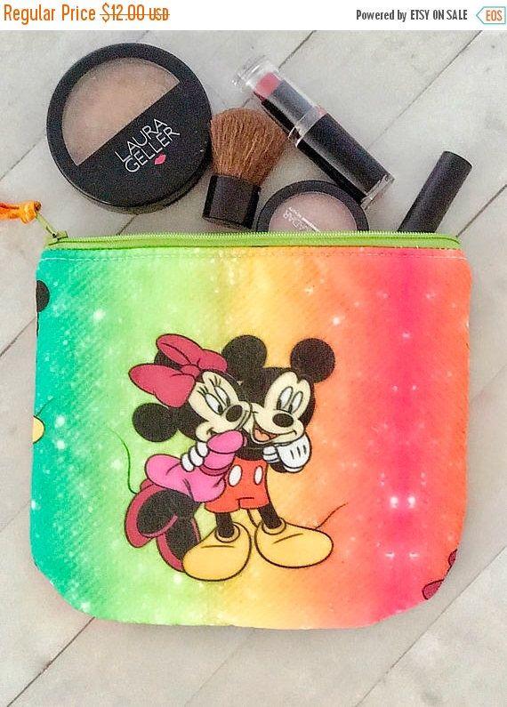b94c129253 Clearance! Disney Mickey and Minnie Mouse medium makeup bag