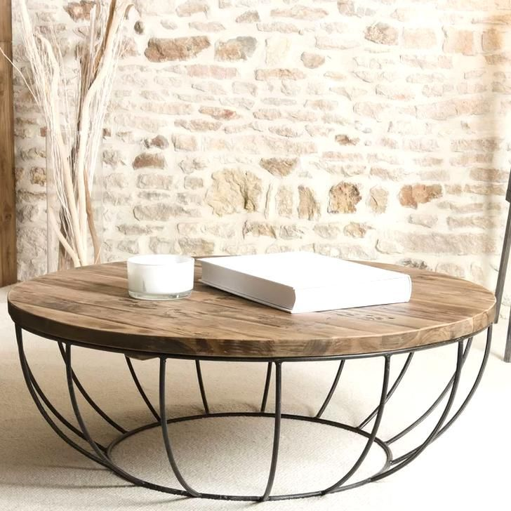 Hokku Designs Coffee Table Reviews Wayfaircouk In 2020 Round Wood Coffee Table Coffee Table Wood Round Wooden Coffee Table