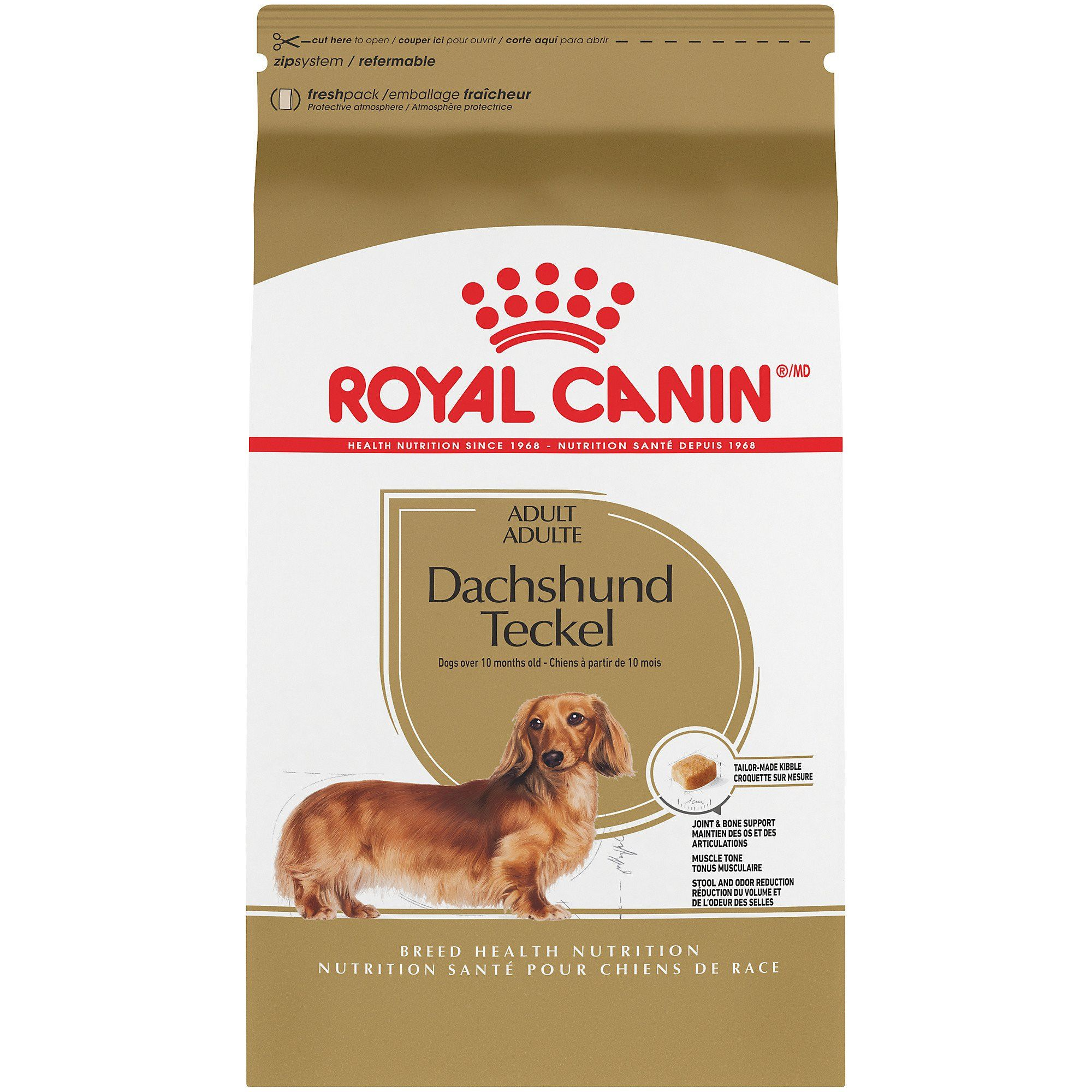 Royal Canin Breed Health Nutrition Dachshund Teckel Adult Dry Dog