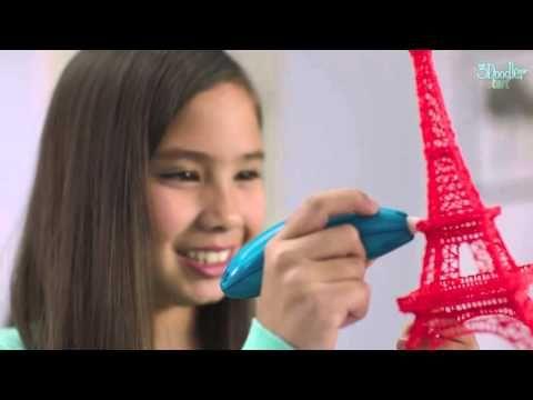 3Doodler startsæt - tegn i 3D - mange timers sjov, byg sjove og brugbare ting