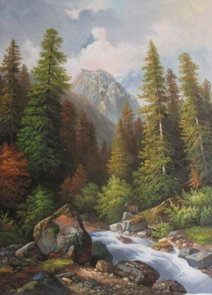 Original Oil Painting Hand Painted High Quality Landscape Painting On Canvas Custom Any S Canvas Painting Landscape Original Oil Painting Landscape Paintings