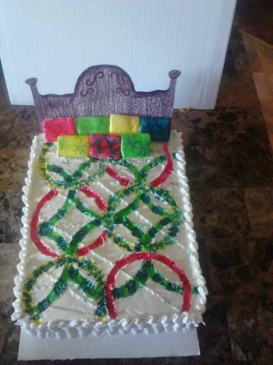 quilt pattern cake Patterned cake, Cake, Gingerbread