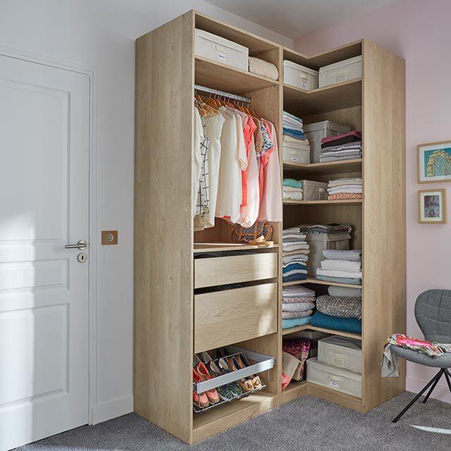 dressing d 39 angle d cor ch ne darwin castorama placard rangements pinterest castorama. Black Bedroom Furniture Sets. Home Design Ideas