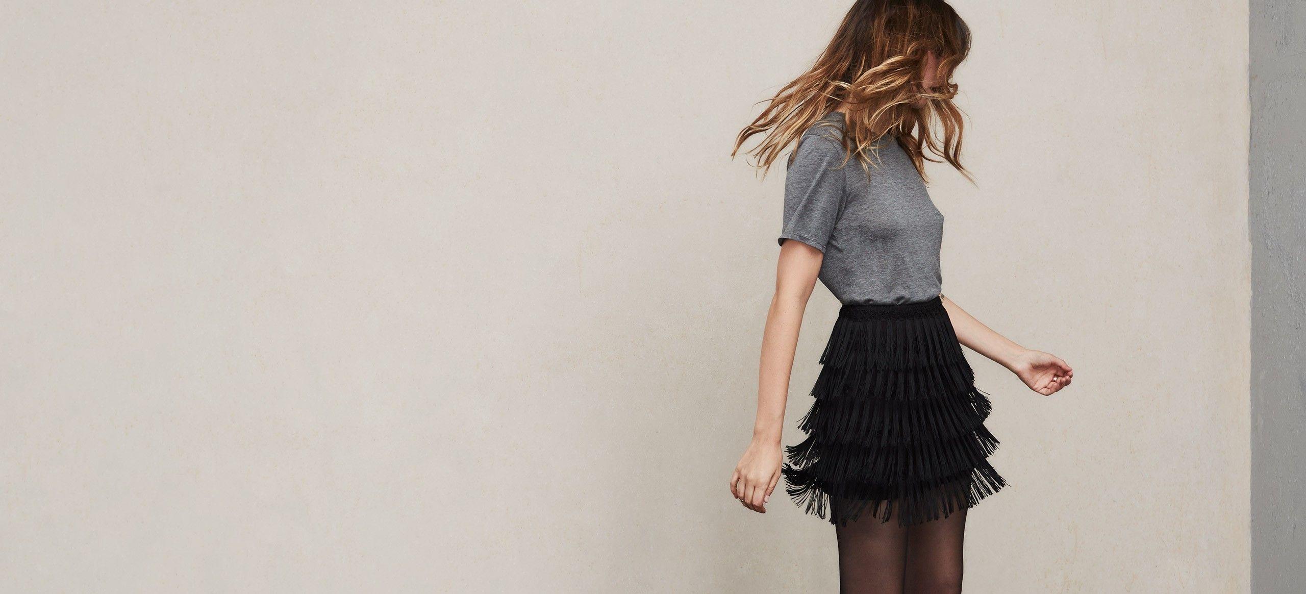Shaking In Skirt