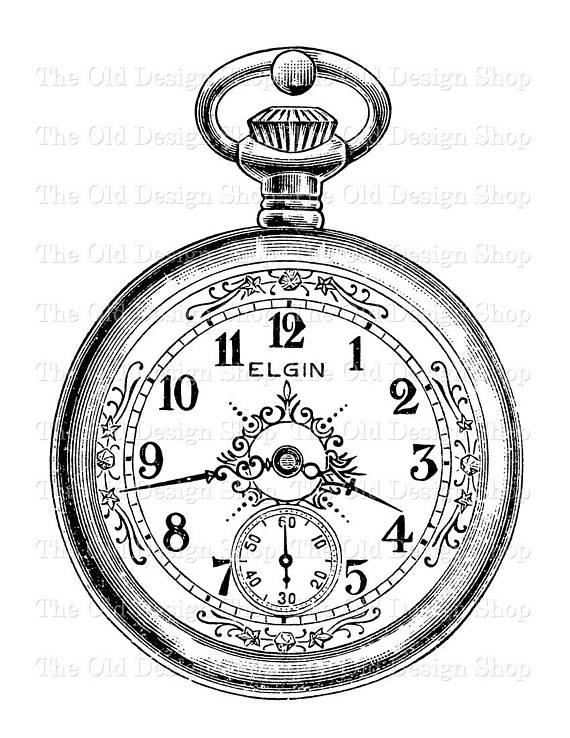 Gold Pocket Watch Png Clip Art Gold Pocket Watch Clip Art Pocket Watch