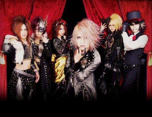 Japanese Rock group The GazettE