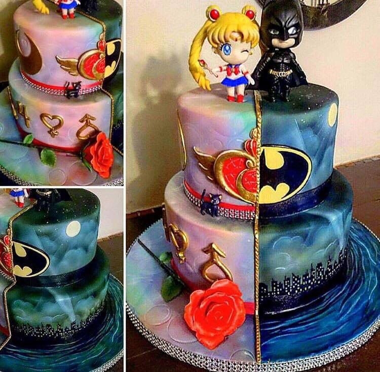 Another Cool Link Is Lgmsport Com Batman And Sailor Moon Cake
