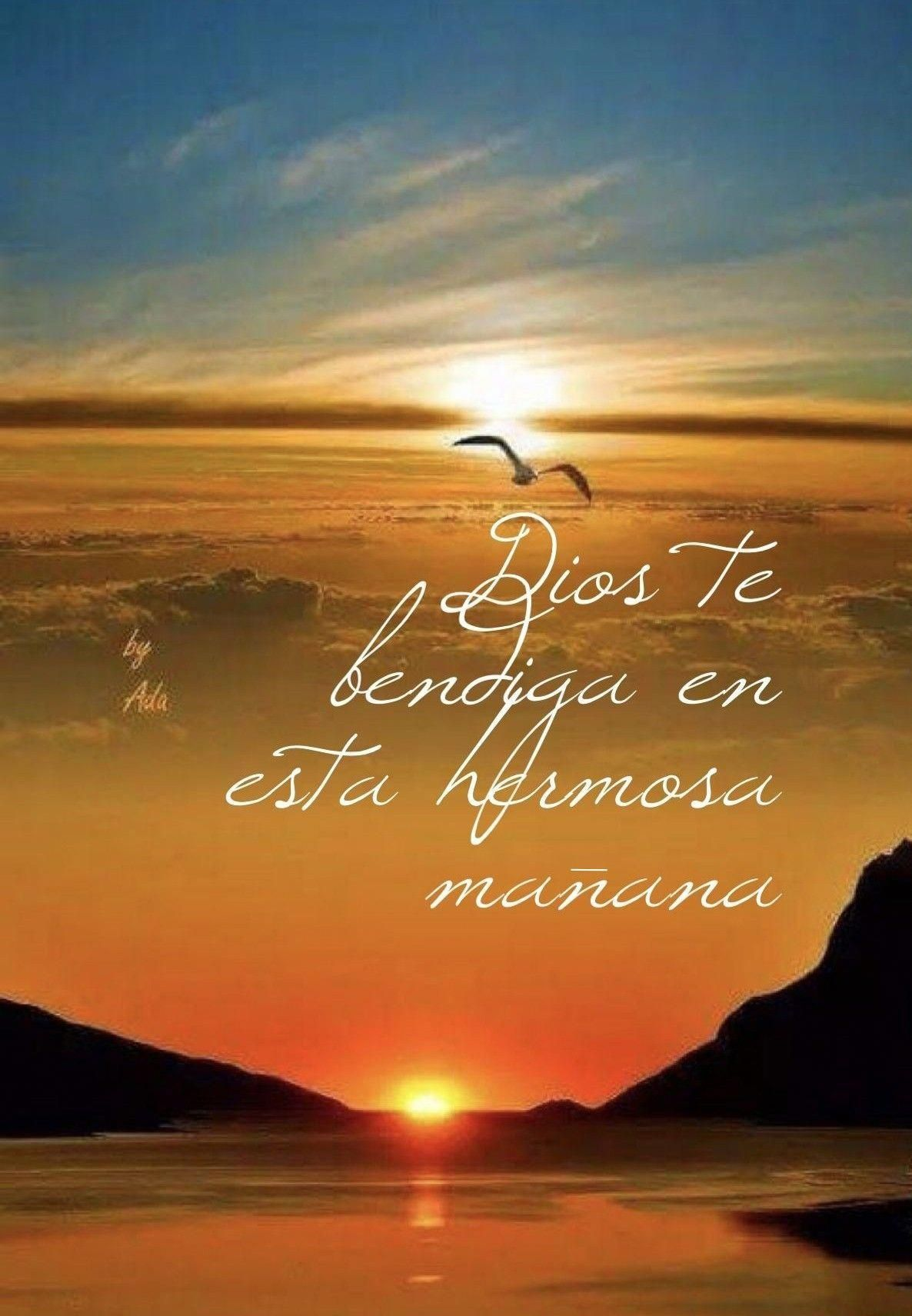 BENDICIONES tarjetascristianas Good morning inspiration