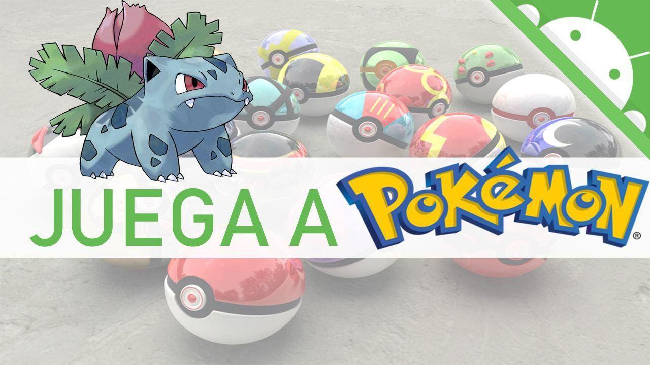 COMO JUGAR POKEMON EN ANDROID Jugar pokemon, Emulador y