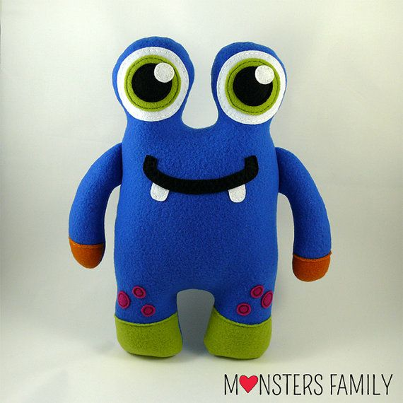Stuffed Toy Monster Plush Baby Animal Cute Plushie Monster
