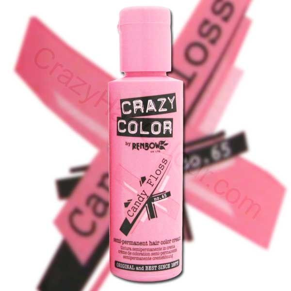 Crazy Color Semi Permanent Hair Colours Are Great For Use On All