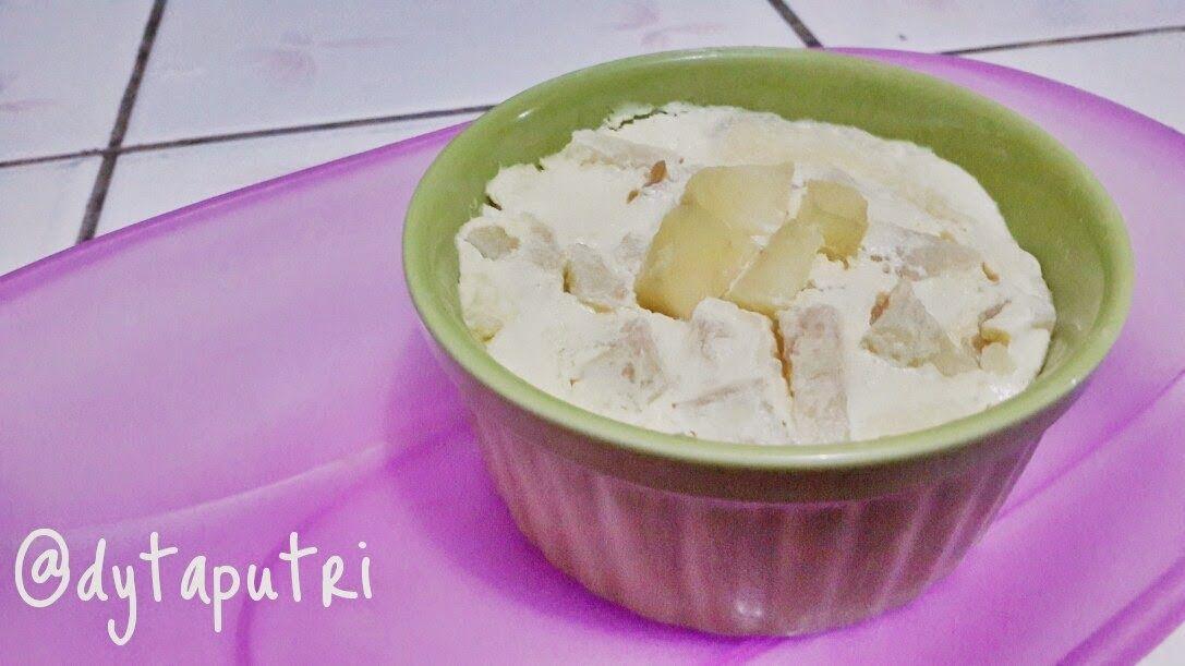 The Dytaputri Resep Mpasi Puding Royo Kukus 8m Makanan Resep Cemilan