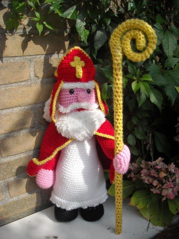 Sinterklaas Crochet Dolls And Other Dolls Pinterest Amigurumi