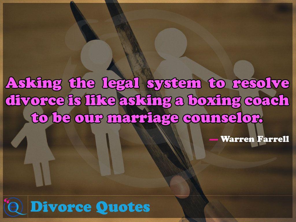 Resolve divorce