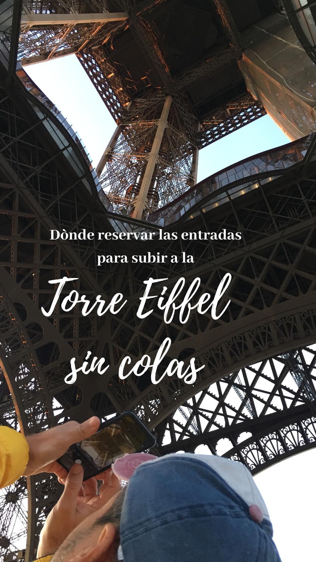 Lo Peor De Subir A La Torre Eiffel Son Las Colas Interminables Que Tienen Todos Los Dias Del Ano Desde Aqui Puedes Reservar La Torre Eiffel Paris Viaje Torres