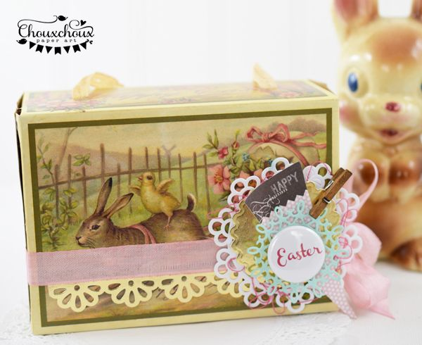 easter candy box vintage
