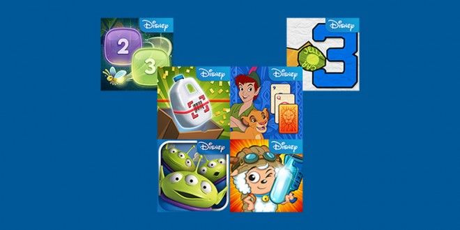 Algunos juegos Disney gratis en la Tienda Windows Phone