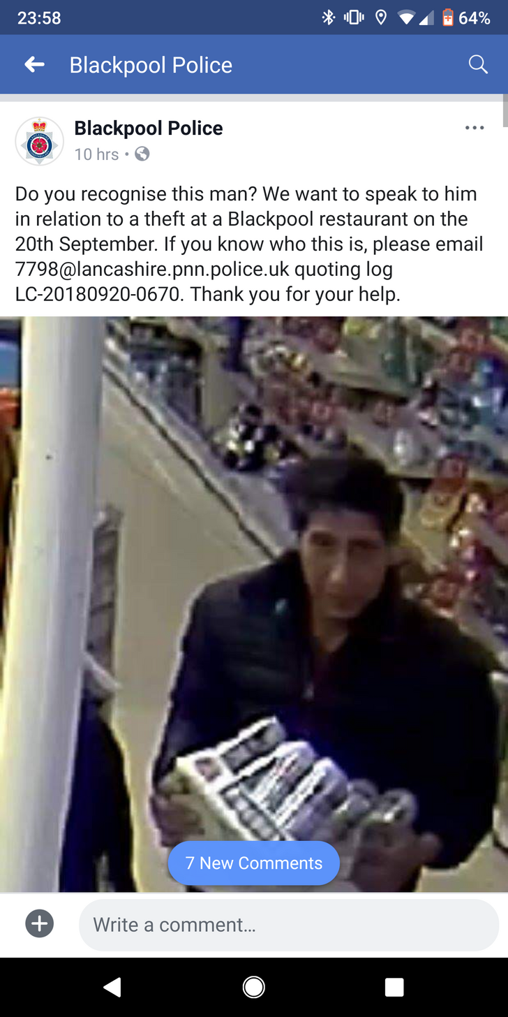 Eerily Recognizable Convenience Store Robber Gets Trolled In
