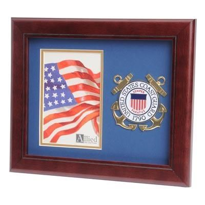 Coast Guard 4 X 6 Portrait Picture Frame With Medallion Portrait Pictures Picture Frames Picture Frame Gallery