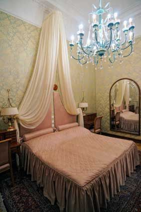 A Coronet Bed Drape Or Curtain Is Basically Curtains And A