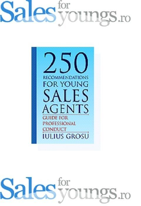 250 recommendations for young sales agents #Textbook