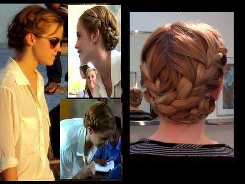 Emma Watson French Braids