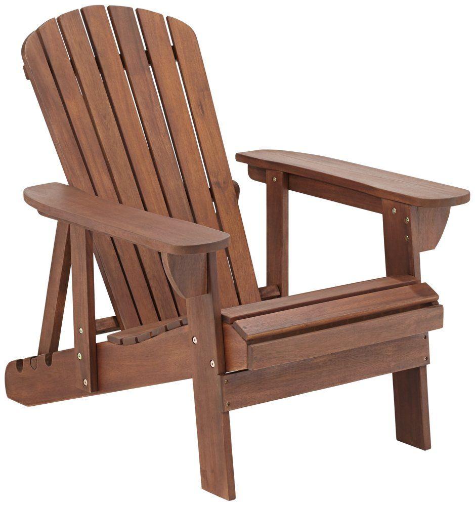 Adirondack chair back slats - Fletcher Adjustable Back Dark Natural Adirondack Chair Upright Is 37 1 2 High