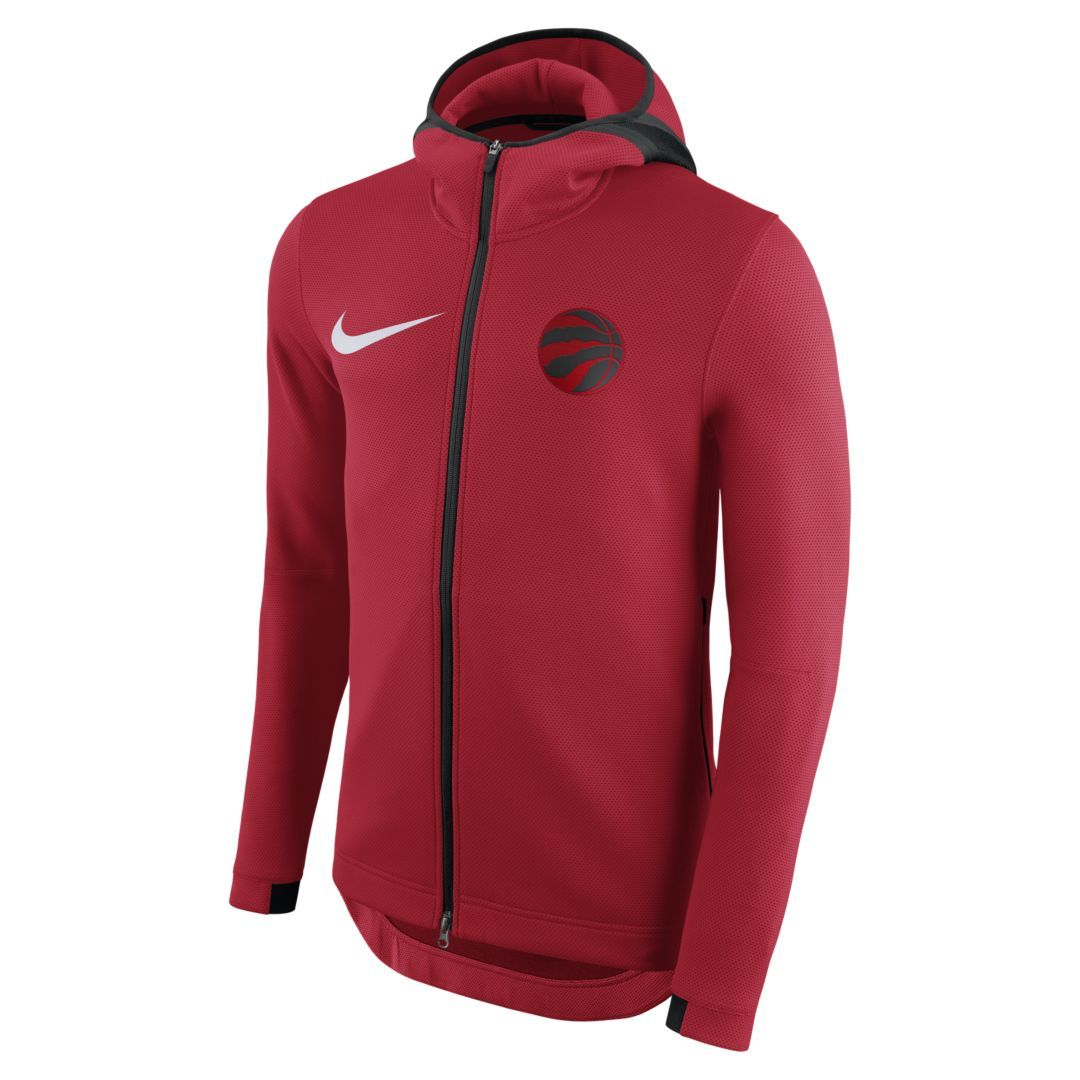 hot sale online 2b805 a5e4b Toronto Raptors Nike Therma Flex Showtime Men's NBA Hoodie ...