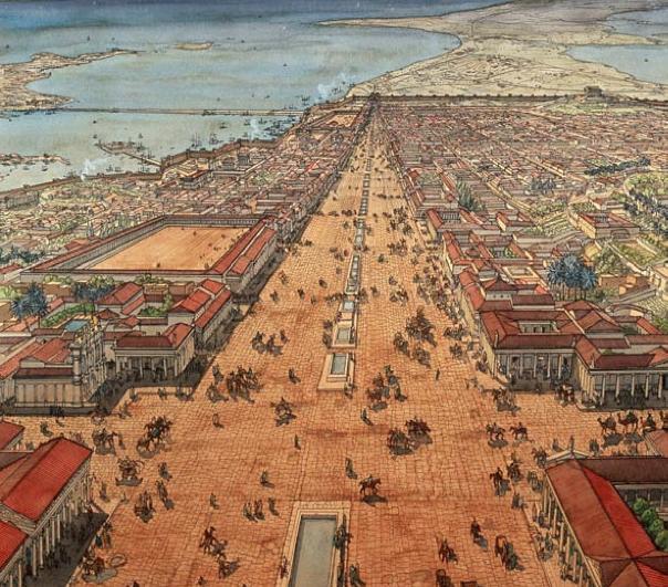alexandria city ancient world ile ilgili görsel sonucu
