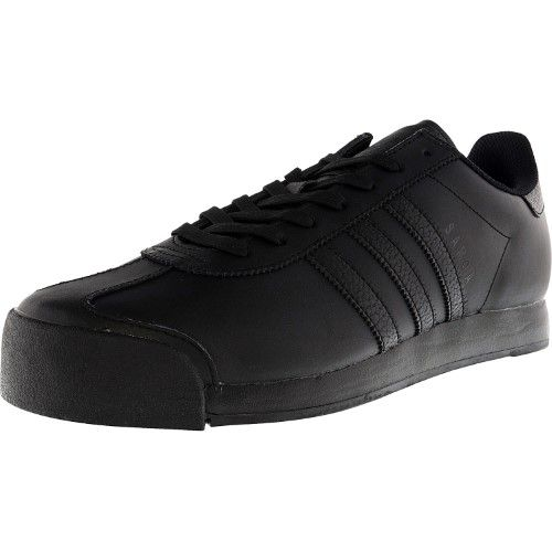 competitive price c7746 32613 Adidas Men s Samoa Core Black   Ankle-High Leather Fashion Sneaker - 8.5M