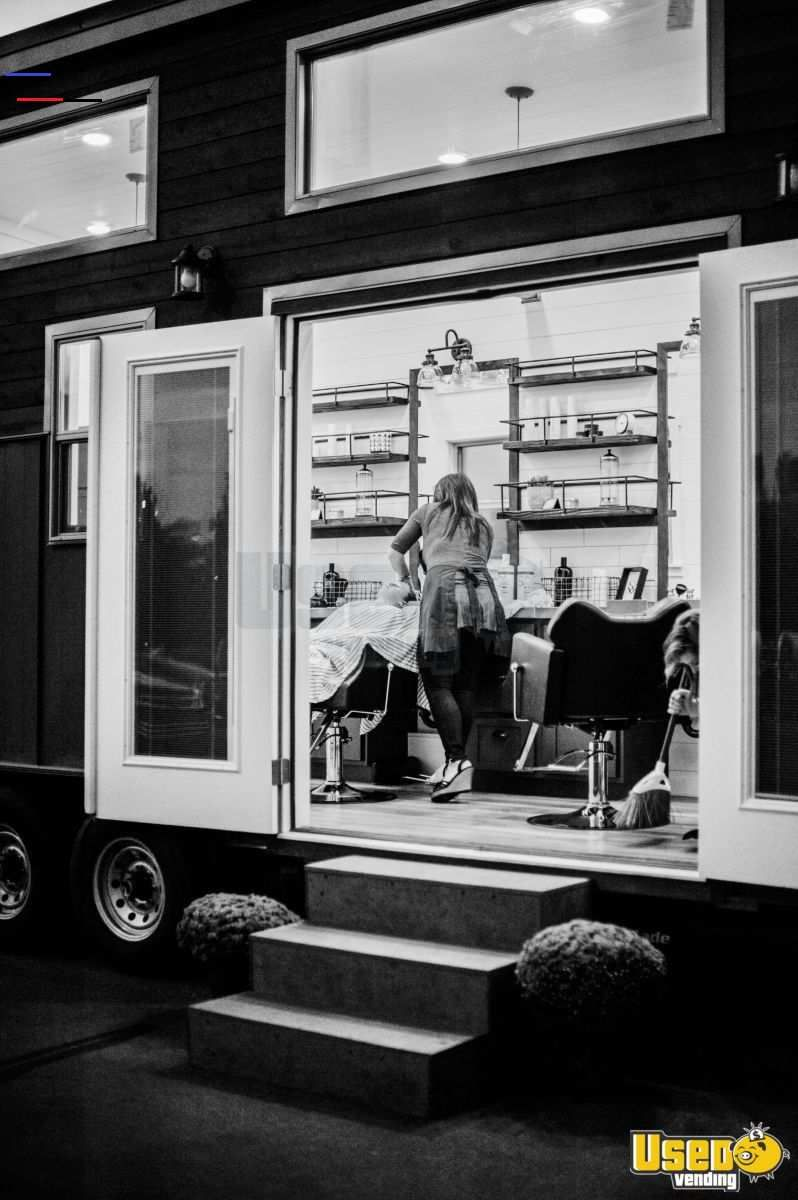 2017 mobile salon barber shop trailer for sale in utah