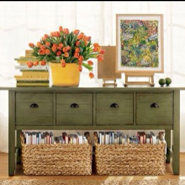Baskets For Standing Books/magazines In