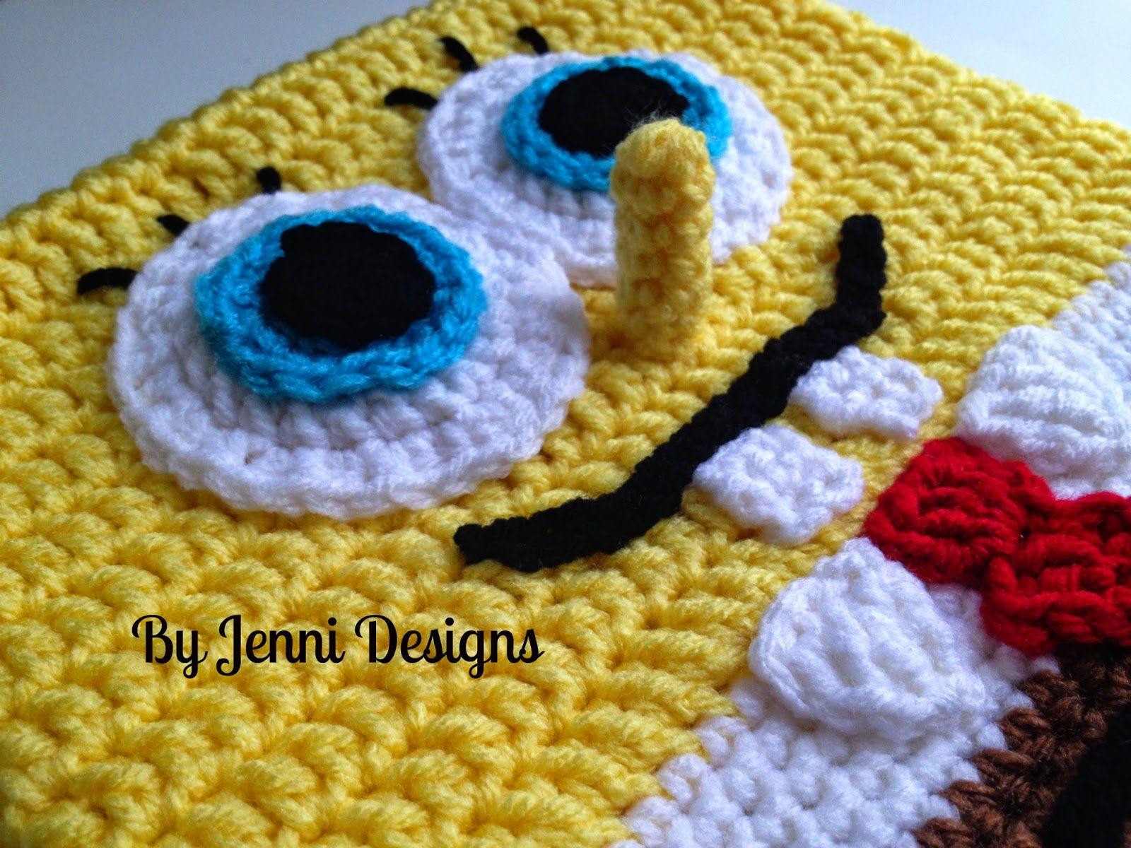 Free Crochet Pattern: Spongebob Squarepants Inspired Hat | Crochet ...