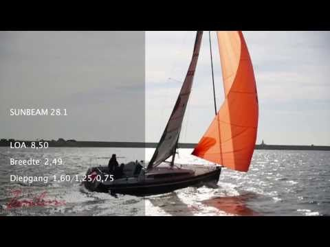 Sunbeam 28 1 YouTube Sunbeam Yachts In Action Segel