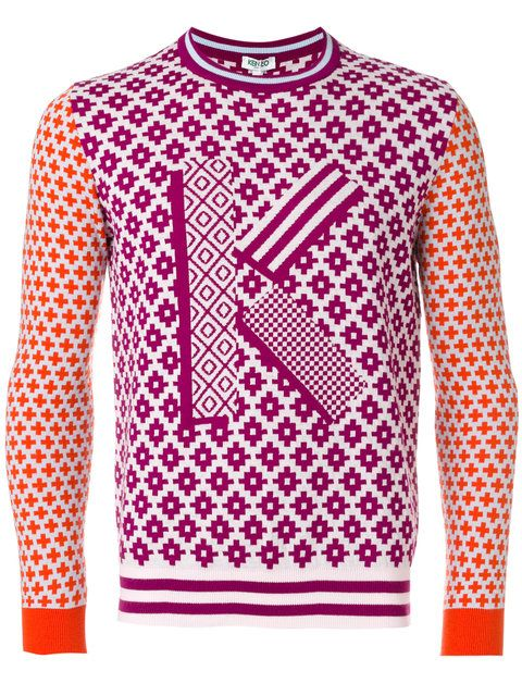 b8cdbd179563 KENZO Fair Isle K Sweater.  kenzo  cloth  sweater