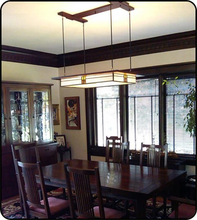 26 Charming Craftsman Dining Room Lighting Design  Craftsman Captivating Craftsman Dining Room Lighting 2018