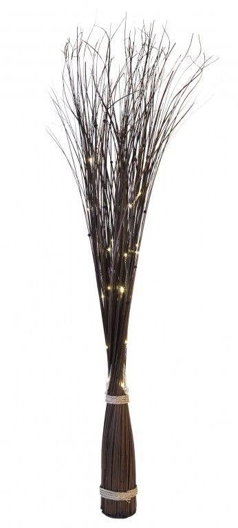 Led leuchtzweig willow line indoor 1 20m 30x for Dekoration innen
