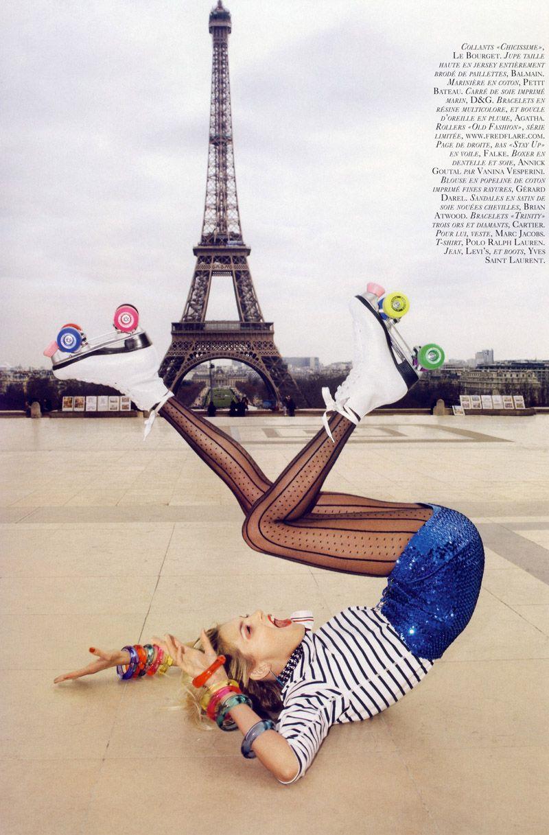 , A Toutes Jambes Editorial by Terry Richardson for French Vogue, Anja Rubik Blog, Anja Rubik Blog