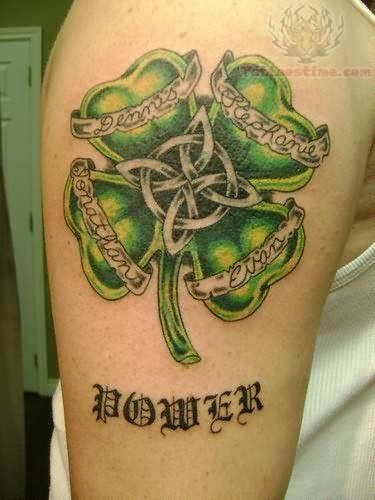 Irish Tattoos For Men | Irish Power Tattoo On Sleeve | Tatoo | Irish ...