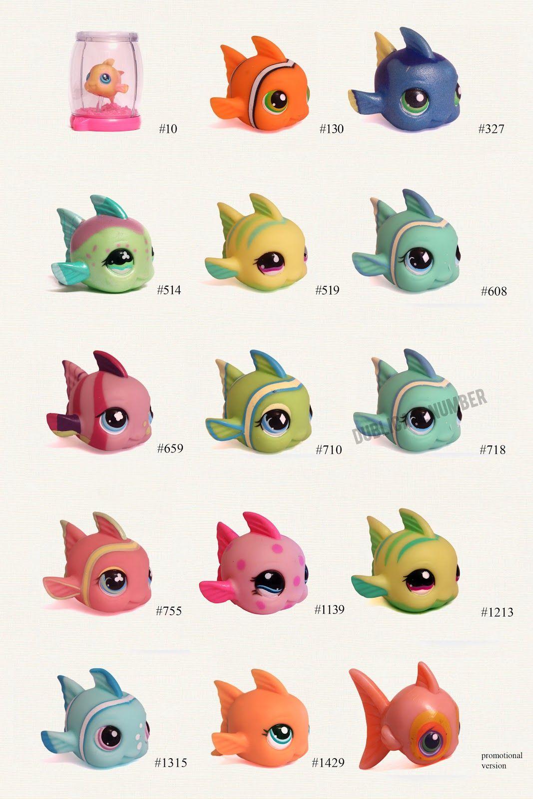 Original Littlest Pet Shop  Fisch LPS  519
