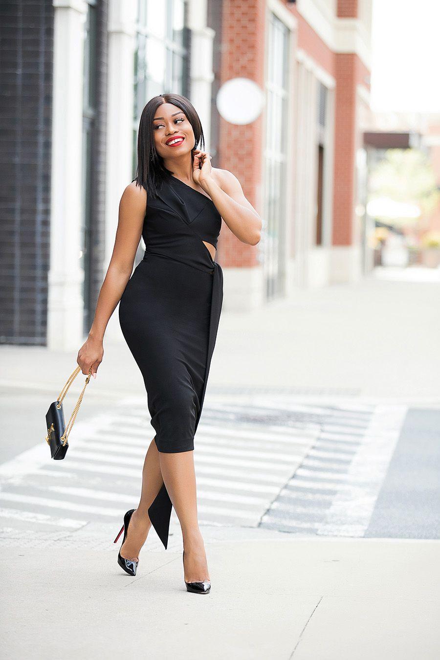 Summer Wedding Black Dress Www Jadore Fashion Com Fashion Black Fashion Bloggers Curvy Fashion