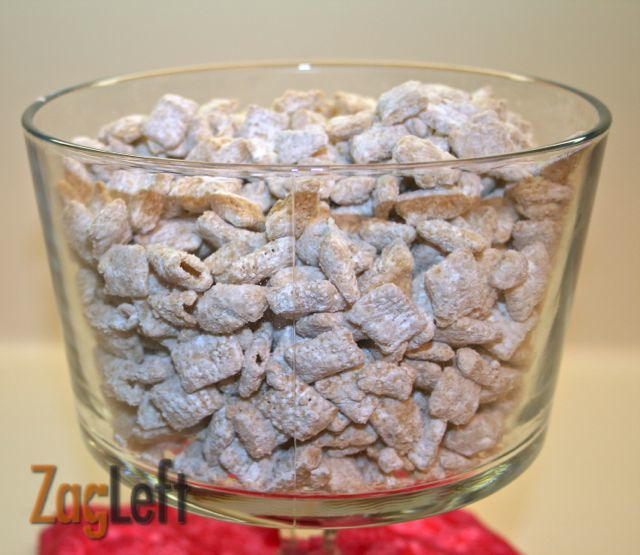 White Chocolate Puppy Chow Recipe Food, Delicious