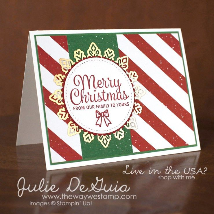 Quick and Easy Christmas Cards for GDP118 | Christmas | Pinterest ...