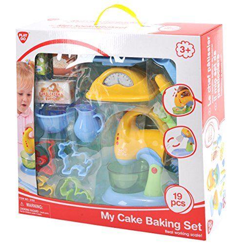 Kids Cooking Kits Playgo My Cake Baking Set 19 Pieces