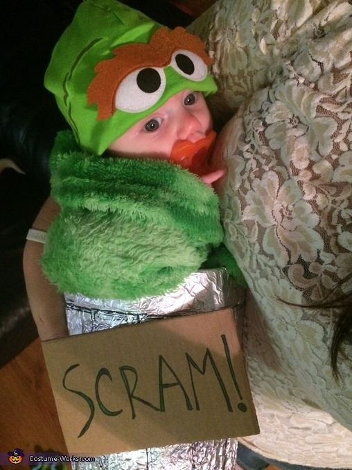 Baby Oscar The Grouch Halloween Costume Contest At Costume