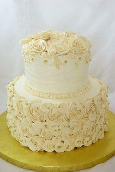 Cake & buttercream tier cake green - Google Search | SpringTimeLove ...